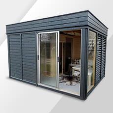 Sauna da giardino Garden Cube
