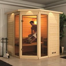 Sauna finlandese in legno nordico INA