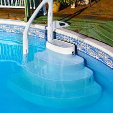 Scala per piscine interrate MAJESTIC