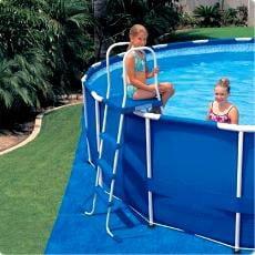 Piscineitalia scalette per piscina fuori terra piscine for Coperture per piscine fuori terra intex